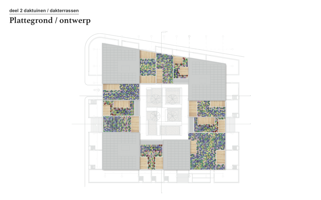 Ontwerp Rooflife / MVRDV groendak